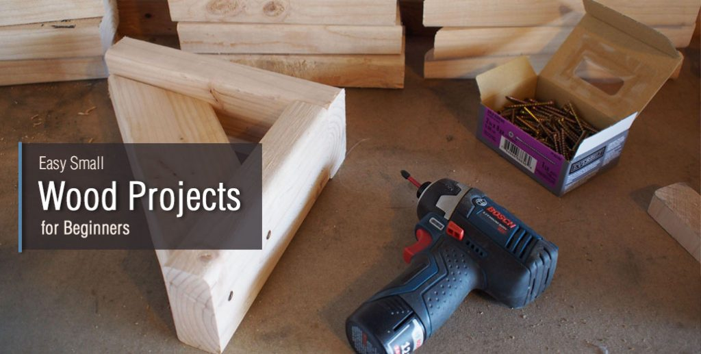 23 Easy Small Wood Projects For Beginners Start Your