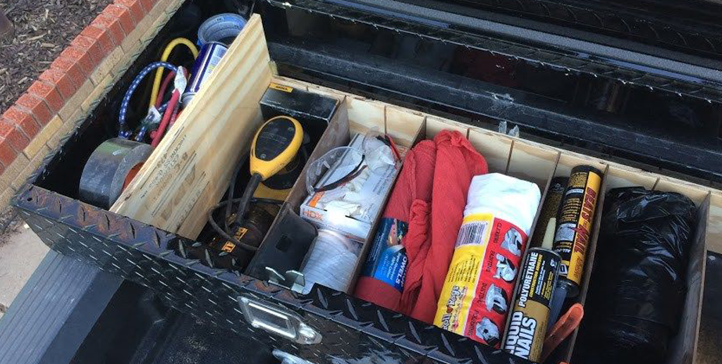 Wooden Toolbox for Organizing Your Tools