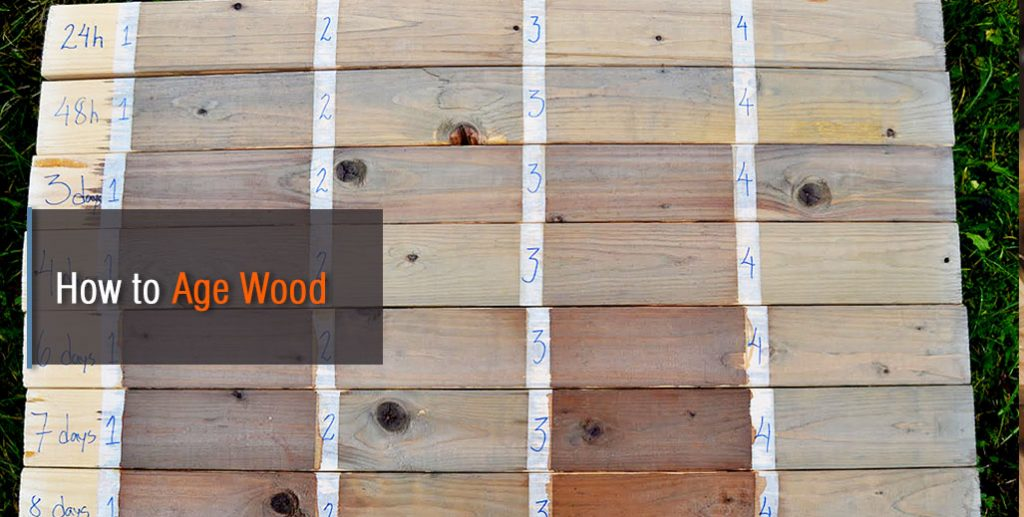 How To Age Wood Fast Using Diffe