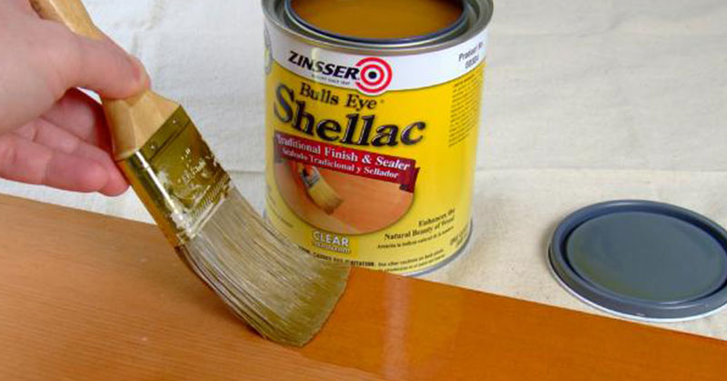 Shellac is safe one