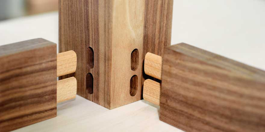 Biscuit Joint for Mortise