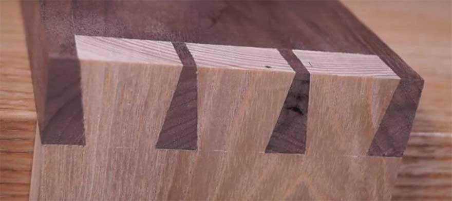 Dovetail Wood Joint for Strong Woodworking
