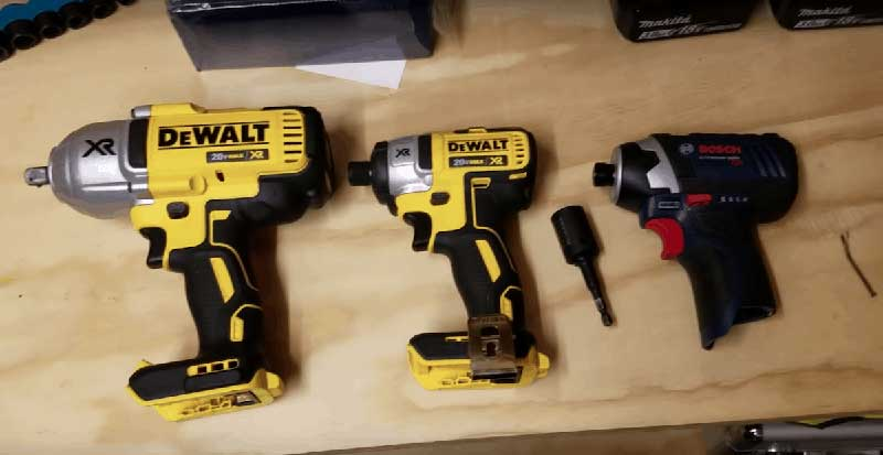 Different Types of Impact Wrenches